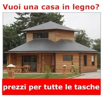 Case di legno da produttori italiani e stranieri case di for Case di legno in romania